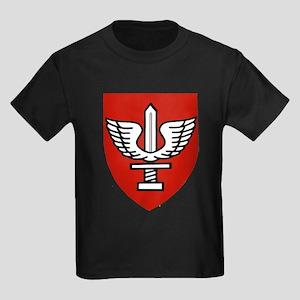 Kfir Brigade Logo Kids Dark T-Shirt