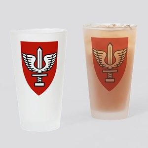 Kfir Brigade Logo Drinking Glass