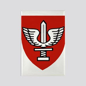 Kfir Brigade Logo Rectangle Magnet