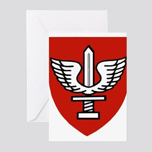 Kfir Brigade Logo Greeting Cards (Pk of 10)