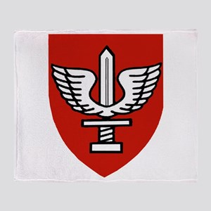 Kfir Brigade Logo Throw Blanket
