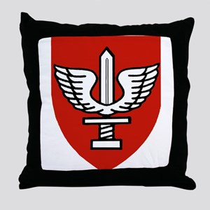 Kfir Brigade Logo Throw Pillow