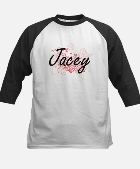 Jacey Artistic Name Design with Fl Baseball Jersey