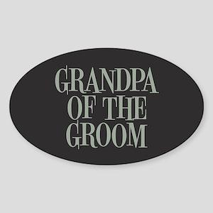 Grandpa of the Groom Sticker