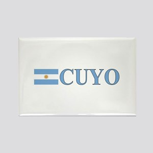 Cuyo, Argentina Rectangle Magnet