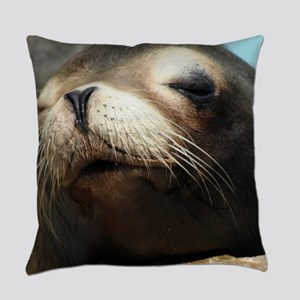 CUTE SEA LION Everyday Pillow