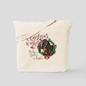 Christmas Goat | Christmas Wishes Baby Go Tote Bag