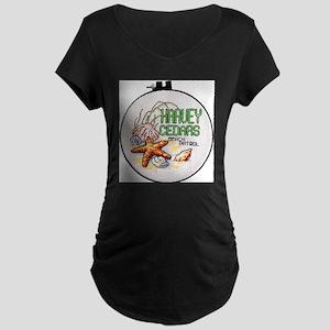 Harvey Cedars CrossStitch Maternity T-Shirt