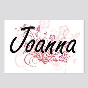 Joanna Artistic Name Desi Postcards (Package of 8)
