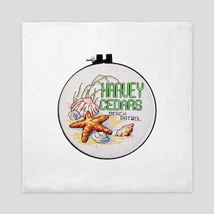 Harvey Cedars CrossStitch Queen Duvet