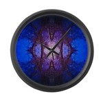 Midnight Large Wall Clock