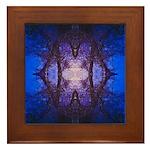 Midnight Framed Tile