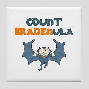 Count Bradenula Tile Coaster