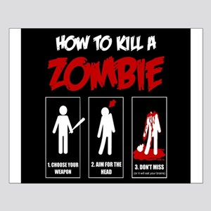 How to KILL a ZOMBIE Posters