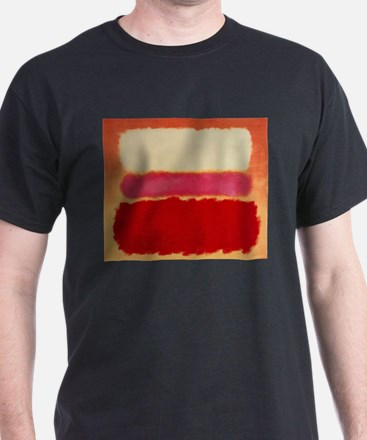 ROTHKO WHITE RED PINK T-Shirt