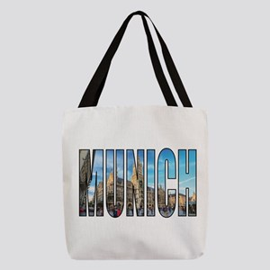 Munich Polyester Tote Bag