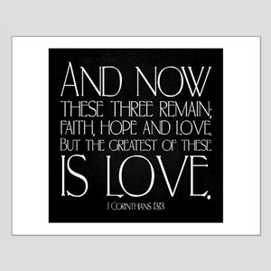 1 Corinthians 13-13 Posters