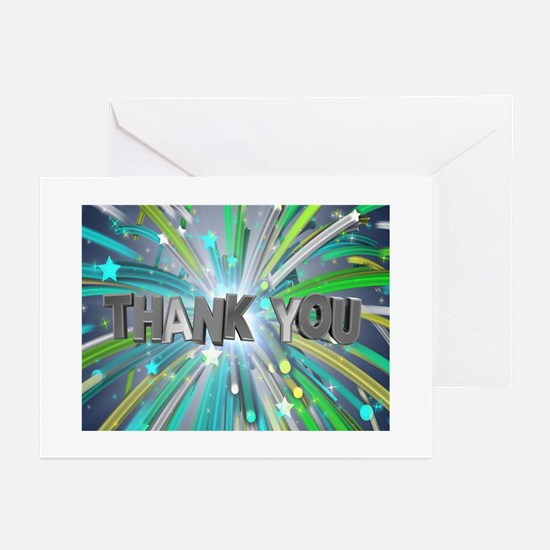 Thank You (pk Of 10) Greeting Cards