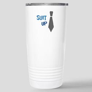 Suit Up Travel Mug