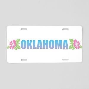 Oklahoma Design Aluminum License Plate