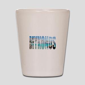 Mykonos Shot Glass