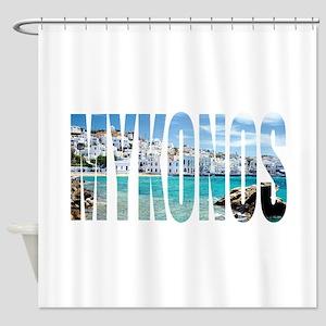 Mykonos Shower Curtain