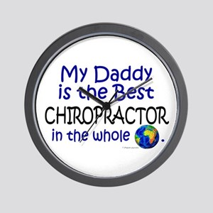 Best Chiropractor In The World (Daddy) Wall Clock