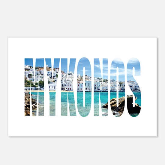 Mykonos Postcards (Package of 8)