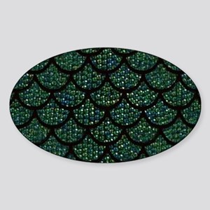 sequin mermaid scales Sticker