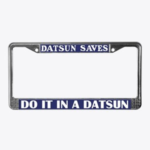 Datsun License Plate Frame