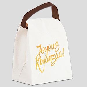 Joyous Kwanzaa Canvas Lunch Bag
