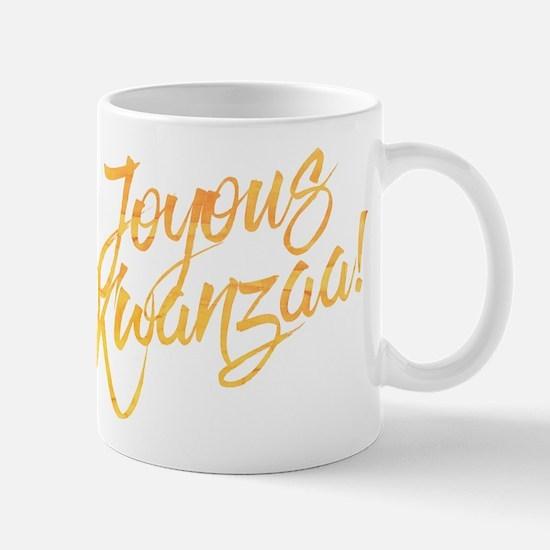 Joyous Kwanzaa Mugs