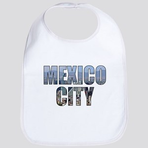 Mexico City Baby Bib