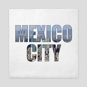 Mexico City Queen Duvet