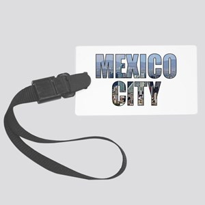 Mexico City Large Luggage Tag