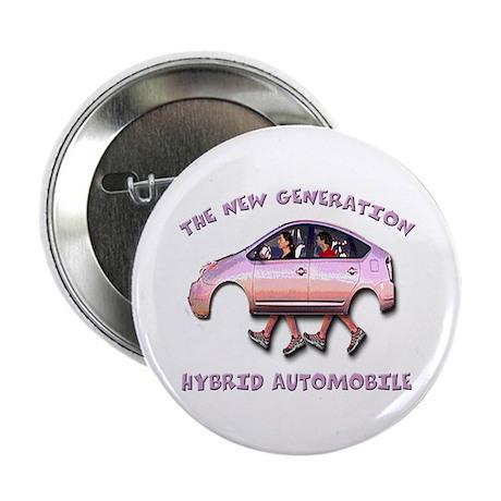 "Hybrid Car 2.25"" Button (10 pack)"