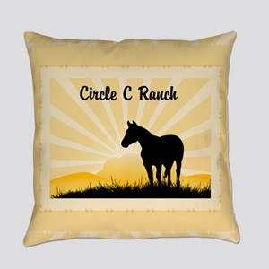 Personalized Ranch Everyday Pillow