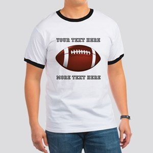Personalized Football Ringer T