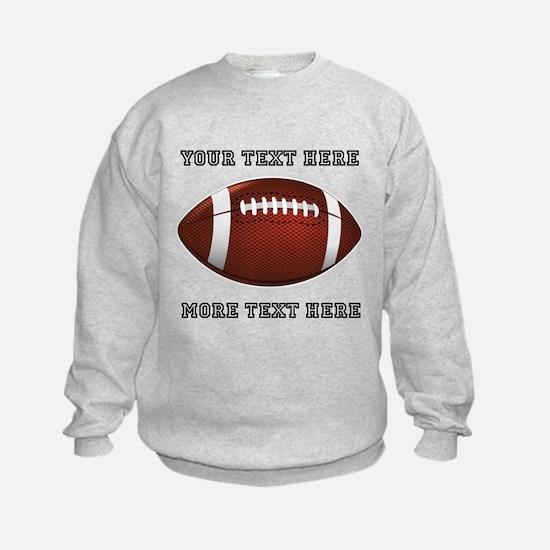 Personalized Football Sweatshirt