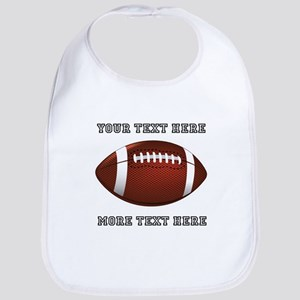 Personalized Football Bib