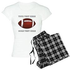 Personalized Football Women's Light Pajamas