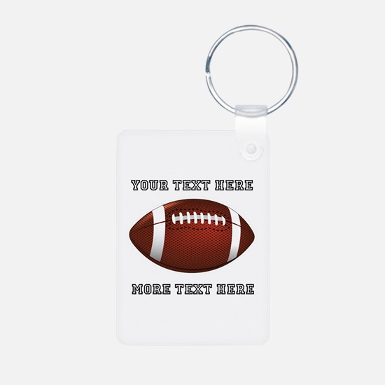 Personalized Football Keychains