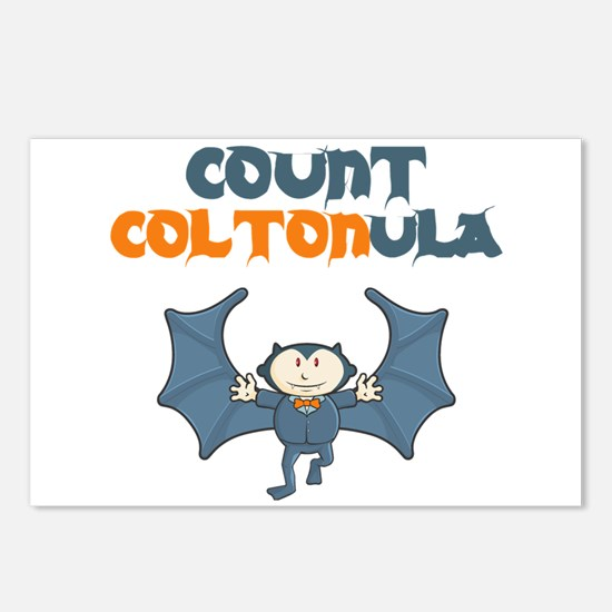 Count Coltonula Postcards (Package of 8)