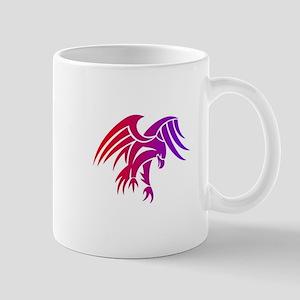 eagle tribal tattoo design Mugs