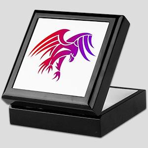 eagle tribal tattoo design Keepsake Box