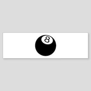 8 ball pool Bumper Sticker