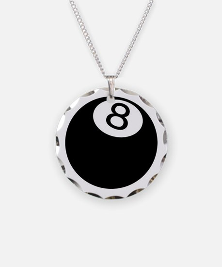 8 ball pool Necklace