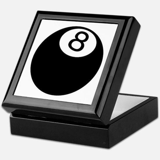 8 ball pool Keepsake Box