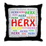 Lyme Disease Therapeutic Herx Throw Pillow