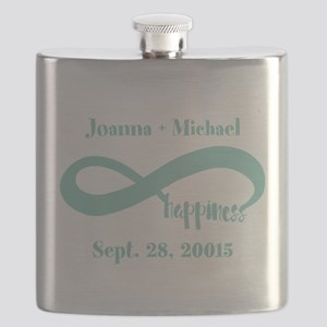 Infinity Happiness Custom Names Flask